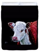 Young Bull Duvet Cover