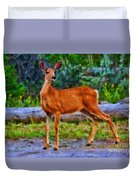 Young Doe Duvet Cover