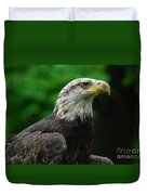 Young Eagle Duvet Cover