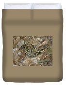 Young Eastern Garter Snake - Thamnophis Sirtalis Duvet Cover