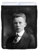 Young Ernest Lawrence Duvet Cover