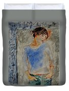 Young Girl 451120 Duvet Cover