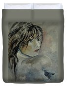 Young Girl 561110 Duvet Cover