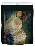 Young Girl  5625632 Duvet Cover