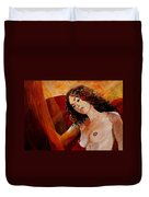 Young Girl  5641 Duvet Cover
