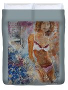 Young Girl  5689652 Duvet Cover