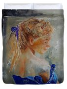 Young Girl  78 Duvet Cover