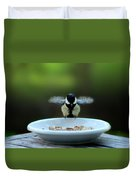 Young Hungry Tit Duvet Cover