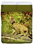 Young Mountain Lion Duvet Cover
