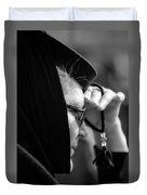 young Orthodox  nun. Duvet Cover