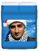 Young Palestinian Man Duvet Cover