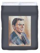 Young Ronald Reagan Duvet Cover