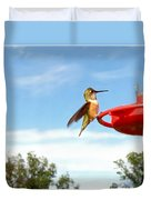 Young Rufous Duvet Cover