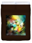 Young Seduction Duvet Cover