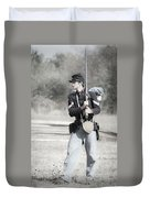Young Soldier II Duvet Cover