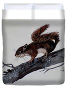 Young Squirrel Duvet Cover
