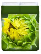 Young Sunflower Duvet Cover