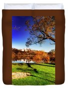 Young Trees Duvet Cover