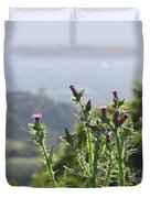 Young Thistles Duvet Cover