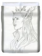 Young Thranduil Duvet Cover