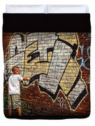 Young Vandal Too Duvet Cover