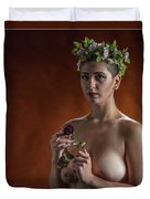 Young Woman Nude 1729.178 Duvet Cover
