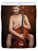Young Woman Nude 1729.189 Duvet Cover