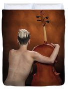 Young Woman Nude 1729.190 Duvet Cover