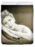 Young Woman Nude 1729.573 Duvet Cover