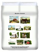 Youngstown Landmarks Montage 2 Duvet Cover