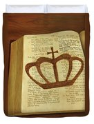 Your God Reigns Duvet Cover