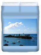 Your Island In The Sun Duvet Cover