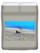 Your Own Private Beach Duvet Cover