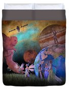 You're Safe In My Hands Duvet Cover