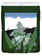 Yucca Blossom Duvet Cover