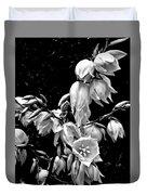 Yucca Blossoms Duvet Cover