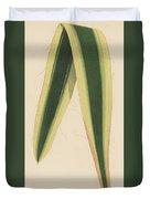 Yucca Leaf Duvet Cover