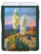 Yuccas Duvet Cover