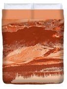 Yukon Mountain Range 5 Duvet Cover