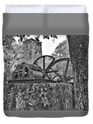 Yulee Sugar Mill Ruins Hrd Duvet Cover