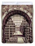 Yuma Territorial Prison Gate Duvet Cover