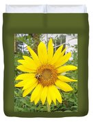 Yummy Sunflower Duvet Cover