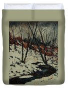 Ywoigne Snow Duvet Cover