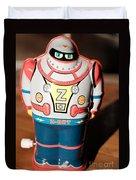 Z-bot Robot Toy Duvet Cover