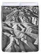 Zabriske Point Death Valley  Bw6398 Duvet Cover