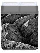 Zabriskie Point Badlands - Death Valley Duvet Cover