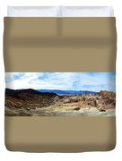 Zabriskie Point Duvet Cover