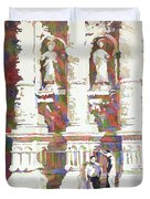 Zacatecas Cathedral Duvet Cover