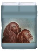 Zack And Katie 2 Duvet Cover