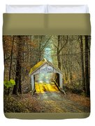 Zacke Cox Covered Bridge Duvet Cover